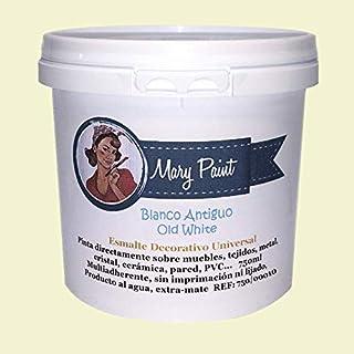Mary Paint | Pintura para muebles efecto Chalk Paint, Blanco