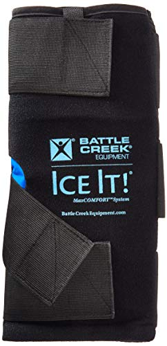 Ice It! MaxCOMFORT System, Cold Comfort Therapy, Knee Wrap