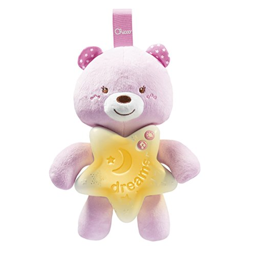 Chicco Gioco First Dreams Bear Panel, Rosa,00009156100000