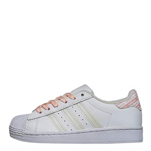 Sneakers ADIDAS Superstar C FV3763 Blanco Rosa NIÑA