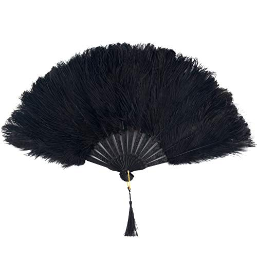 small feather fans - 6