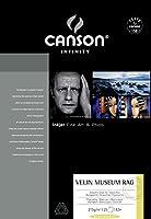 キャンソン 写真用紙 インフィニティ アルシュ ベラン ミュージアム ラグ A3ノビ 25枚 6111020 【正規輸入品】