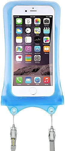 AquaVault 100 Waterproof Floating Smart Phone Case Money Pouch Fits All Phones Dual Layer Shock product image