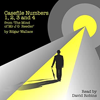 Casefile Numbers 1,2,3, and 4 from 'The Mind of Mr J G Reeder' cover art