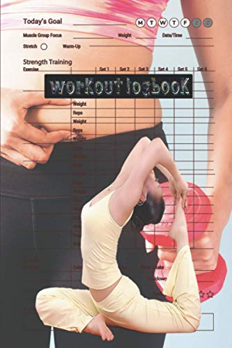 Workout logbook: Your Fitness logbook Over 145 Days of Workout Tracking and Goal Setting. Easily Keep Track of Your Workouts and Body Measurements click to see more...