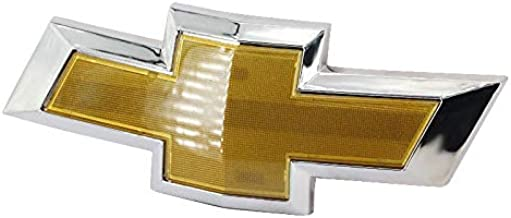 Guzetop Front Bumper Emblem Chrome Grille Badge Grill Sign Symbol Logo for 2011-2014 Chevy Cruze Gold
