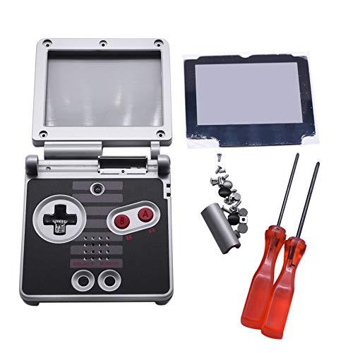 Xingsiyue Ersatz Voll Gehäuse Shell Cover Hülle Reparatur Teile Set w/Objektiv&Schraubendreher für Nintendo Gameboy Advance SP GBA SP Console