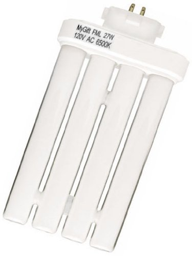 Replacement 27W Bulb for The'Bright As Day!' Daylight Spectrum Lamp GX10Q-4