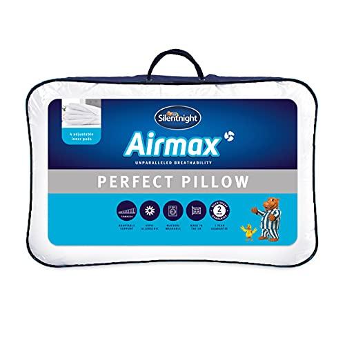 Silentnight Airmax Perfect Pillow, White, 74 x 48cm