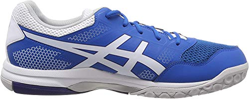 Asics Herren Gel-Rocket 8 Multisport Indoor Schuhe, Blau (Racer Blue/White 401), 41.5 EU (7 UK)