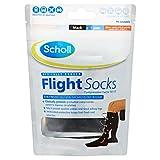 Scholl Flight Socks 1 Pair Shoe - Sizes 6 1/2-9, Black