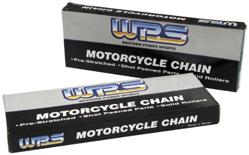 WPS 428 Heavy Duty Chain - 120 Links - Gold , Chain Type: 428, Chain Length: 120, Color: Gold, Chain Application: All 428H-120 GOLD
