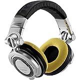 Zomo MOUSSE HDJ1000/HDJ2000/RPDH1200 JAUNE - Auriculares para DJ, color amarillo