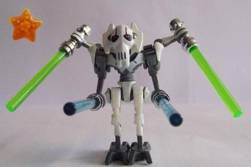 LEGO® Star Wars™ - Minifigur General Grievous mit 4 Laserschwertern und Einem Stern