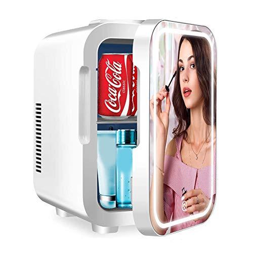 Maquillaje Nevera Mini Refrigerador Portátil 5 litros para Maquillaje Y Cuidado La Piel,Sala,Automóvil Bar