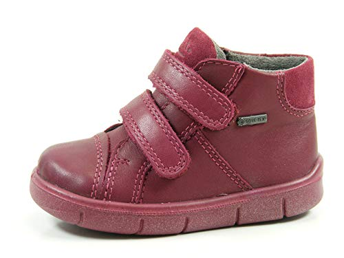 Superfit Baby-Mädchen Ulli Lauflernschuhe, Rot (Port), 21 EU