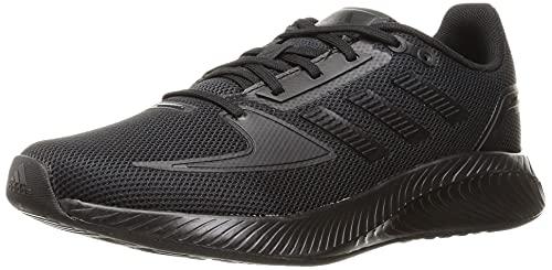 adidas RUNFALCON 2.0, Scarpe da Corsa Donna, Black/Black/Black, 42 EU