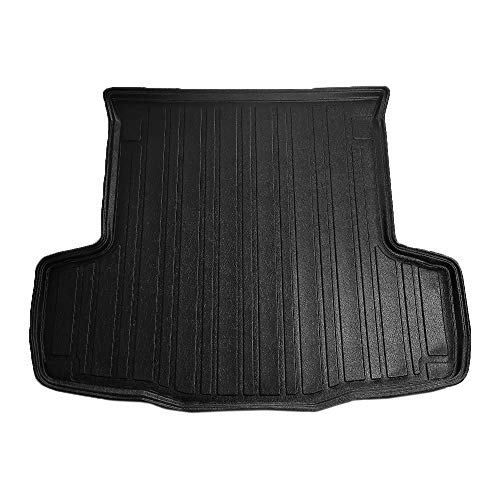 RE&AR Tuning Trunk Mats for Fiat Linea 2007-2020 Cargo Liner Black