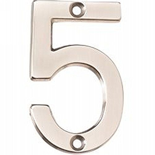 Alno AP5-7-MB Transitional House Numbers, 7