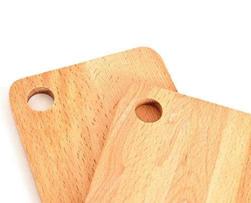 Vaste Snijplank Snijplank Mini Baby Voedsel Supplement Snijplank Snijplank Bamboe Houten Panel