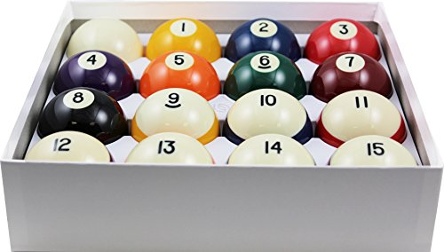 Aramith 2–1/10,2cm Verordnung Größe Krone Standard Billard/Pool Bälle, komplett 16Ball Set