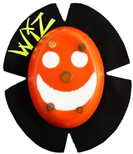 WIZ Racing Knieschleifer Sparky, Smile - orange-weiß