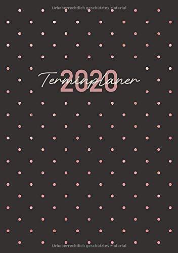 Terminplaner 2020: Ein Kalender und Wochenplaner für das Jahr 2020. Pro Woche zwei Seiten. Taschenkalender im Format DIN A5. Edition: Punkte.