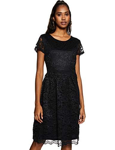 Max Body Blouse Dress (SR1004_Black_Small)