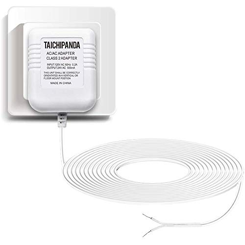 24 Volt Transformer, C Wire Adapter for Nest Honeywell Ecobee and Sensi ThermostaDoorbell Transformer For Nest Hello Doorbell and Any Doorbells Require 24V Power Supply