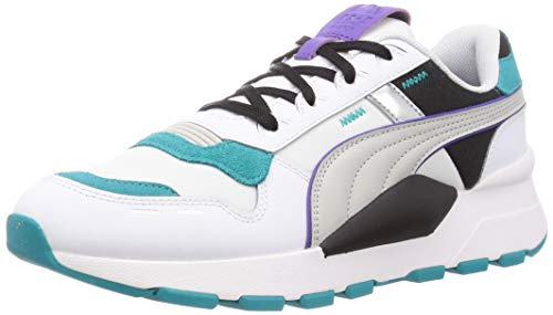PUMA RS 2.0 Futura, Zapatillas Unisex Adulto, Blanco White/Viridian Green, 40.5 EU
