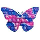 LAS COSAS QUE IMPORTAN Pop IT Mariposa Rosa   Juguete antiestrés para niños   Explotar Burbujas y Al...