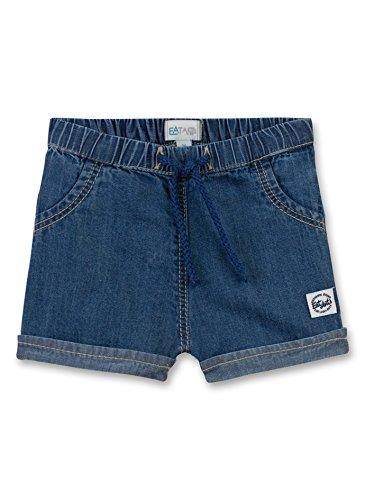 Sanetta (Eat Ants Baby Jungen Kurze Jeans 113980 in blau (Blue Lagoon 9566), Kleidergröße:62, Farbe:blau (Blue Lagoon 9566)