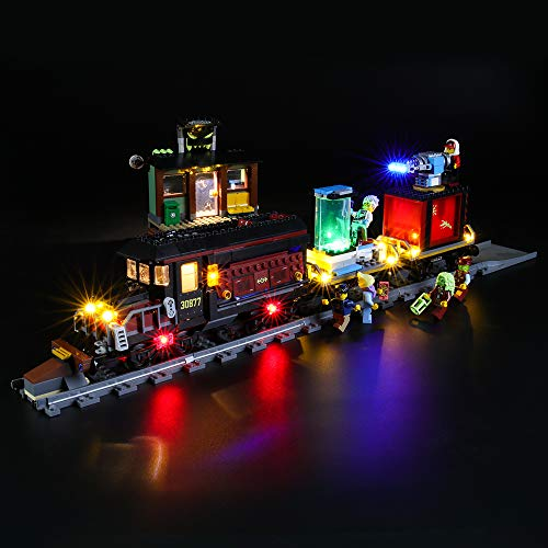 BRIKSMAX Led Beleuchtungsset für Lego Hidden Side Geister-Expresszug,Kompatibel Mit Lego 70424 Bausteinen Modell - Ohne Lego Set