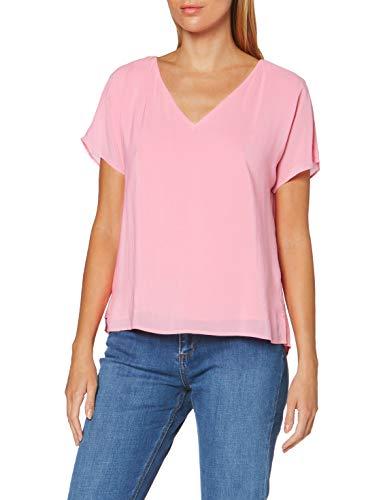 ESPRIT Collection Damen 050EO1F303 Bluse, 670/PINK, XXL