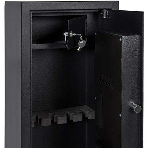 Best Choice Products Steel Electronic Storage Safe for Firearms, Valuables w/Digital Keypad, Keys, Padded Interior