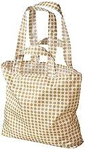 Ikea Skynke Shopping Bag Yellow/White Set of 4 804.413.11