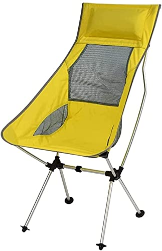 Outdoor Folding Chair Ultra Light Portable Fishing Chair Simple Maza Moon Chair Camping Recliner Aluminum Chair