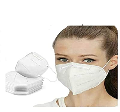Breathing Dust Mouth Mask for Air Pollution, Replaceable Activated Carbon PM2.5 3-piece from RegeMoudal