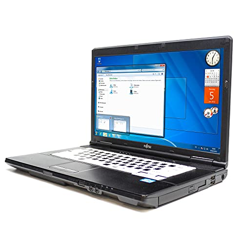 "Notebook Fujitsu Lifebook A561 i3 2.1GHZ PC Computer Portatile Aziendale PC Business Laptop 15.6"" 2.1GHz SSD RAM DDR3 Win 7 PRO DAD SmartWorking Webcam 1080p (Ricondizionato) (8GB RAM SSD 240GB)"