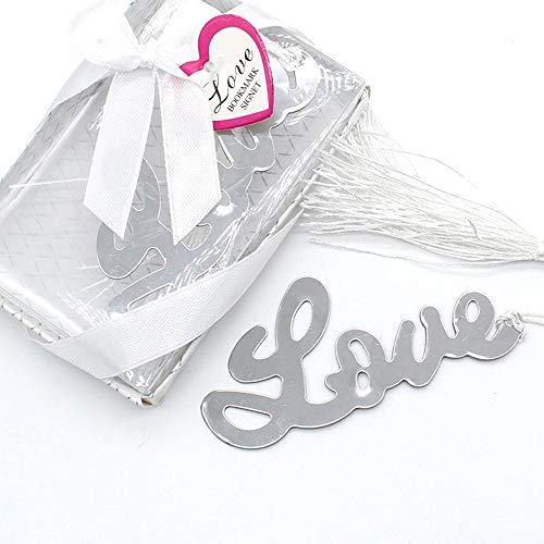 Segnalibro nascita battesimo cresima matrimonio bomboniera tema LOVE regalo inviti