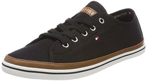 Tommy Hilfiger Damen Iconic Kesha Sneaker, Schwarz (Black 990), 37 EU