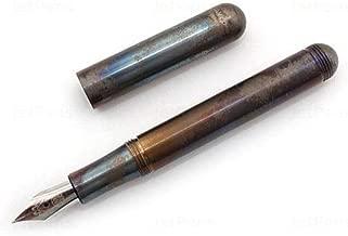 Kaweco Liliput Steel Fireblue Pocket Fountain Pen - Medium Nib