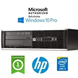 Ordinateur HP Compaq 6300 Pro SFF Core i3 – 3220 RAM 4 Go 250 Go Windows 10 Professional (Unité Certificat)