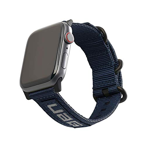 URBAN ARMOR GEAR UAG Compatible with Apple Watch 44mm 42mm, iWatch Series 6/5/4/3/2/1 & Watch SE Strap Nato Eco High Strength Nylon Sporty Replacement Watch Band, Mallard