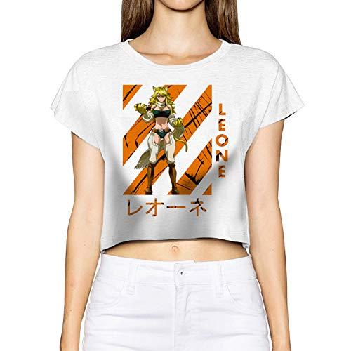 FXNOW Camiseta informal para mujer Leone Akame Ga Kill