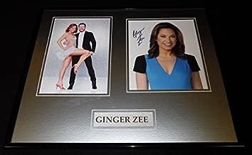 Ginger Zee Signed Framed 16x20 Photo Display DWTS GMA