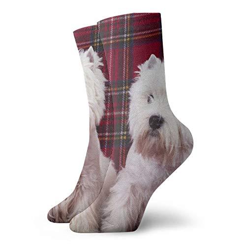 Con grúas blancas japonesesCalcetines de moda, calcetines deportivos, unisex de 30 cm