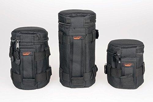 Kalahari SWAVE Objektivköcher 3er Set bestehend aus je einem 11cm + 15cm + 20cm Köcher, Sparset mit Preisvorteil