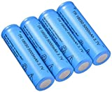 4Pcs18650 Battery 3 7V 5000Mah Rechargeable 18650 Lithium Ion Battery Used for DIY Electric Toy Power Supply Lithium Battery