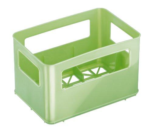 Rotho Babydesign Boîte de rangement pour bouteilles à goulot large Vert